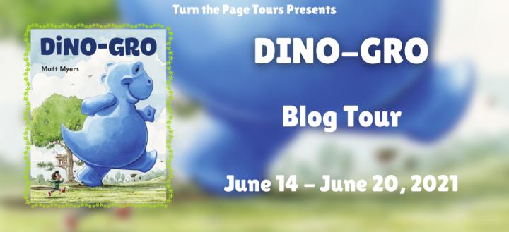 Blog Tour: Dino-Gro